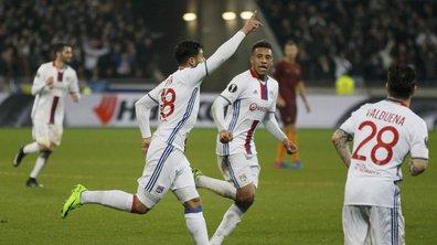 Ligue Europa - OL / AS Roma (4-2) : Tolisso, Fekir et Lacazette ont signé trois chefs-d'oeuvre pour mettre la Louve à terre (VIDEO)