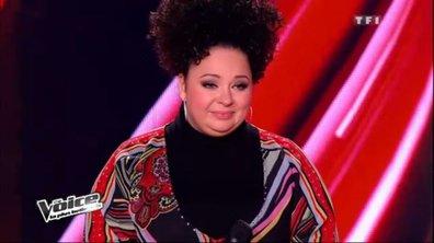 """The Voice: Nadja fait pleurer Garou après """"Think"""""""