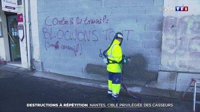 Nantes, cible privilégiée des casseurs