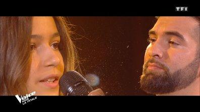 """The Voice Kids 2020 - Finale - Naomi & Kendji chantent """"Histoire éternelle"""" la BO de La Belle et la Bête"""