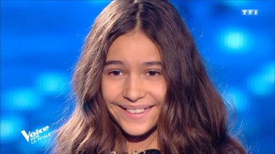 "The Voice Kids 2020 - Finale - Naomi chante ""J'y crois encore"" de Lara Fabian (Team Kendji Girac)"
