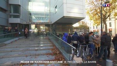 Narbonne : 31 personnes jugées pour l'incendie du péage et des locaux de la gendarmerie