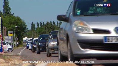 Nationale 7 : carnet de route d'une journée noire