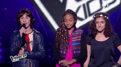 Némo, Naya, Laëtitia et Garou chantent « Radioactive » de Imagine Dragons