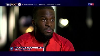 "Ndombele : ""Tottenham ? Un grand club"""