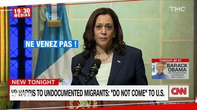 """""""Ne venez pas"""" : le message de Kamala Harris aux immigrés fâche les Démocrates"""