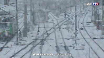 Neige en Alsace : jusqu'à 25 centimètres