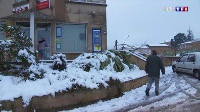Neige : l'Ardèche privée d'électricité et de chauffage