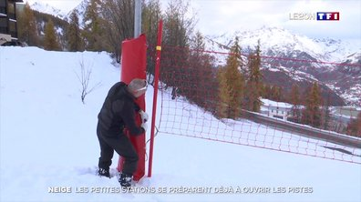 Neige : la station du Puy-Saint-Vincent se prépare déjà à ouvrir les pistes