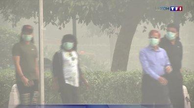 New Delhi : 20 millions d'habitants au bord de l'asphyxie