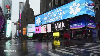 New York, prochain épicentre de l'épidémie de coronavirus