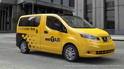 Voici le nouveau taxi de New York : le Nissan NV200