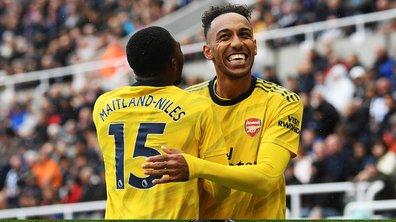 Newcastle-Arsenal : Aubameyang délivre les Gunners