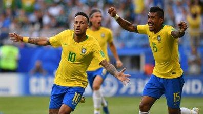 Le Brésil en quart de finale face à la Belgique
