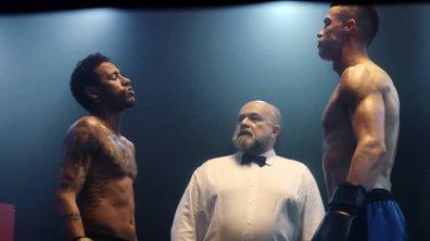 INSOLITE - Un combat de boxe entre Neymar et Cristiano Ronaldo pour une pub
