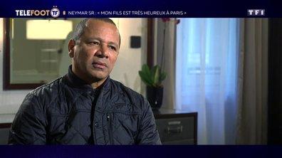 """[EXCLU Téléfoot 17/02] - Neymar Senior critique l'arbitrage en Ligue 1 : """"L'arbitre doit protéger le joueur"""""""