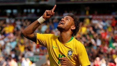 Retour gagnant pour Neymar, buteur face à la Croatie