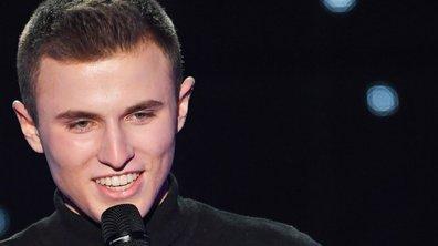 """The Voice 2021 – Nicolas chante """"Hors saison"""" de Francis Cabrel"""