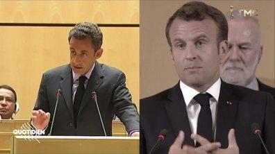 Nicolas Sarkozy vs Emmanuel Macron : une urgence, un même discours, 10 ans d'écart