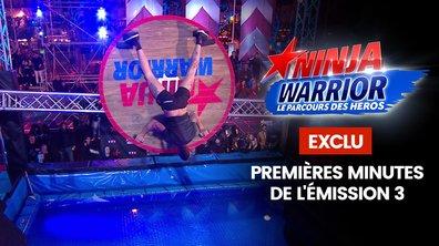 Prime 3 : Exclu, les premières minutes du prime - Ninja Warrior