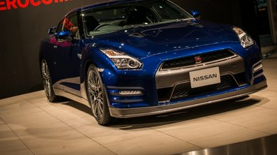 No Limit : la Nissan GT-R 2014 sur glace