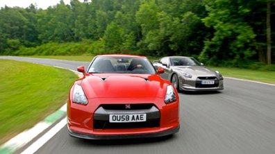 La Nissan GT-R dans le livre Guiness des records