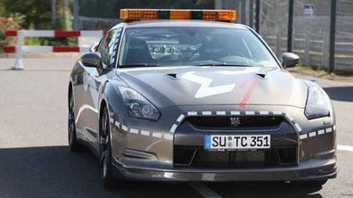 Une Nissan GT-R pour sécuriser le Nurburgring