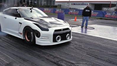 Record de vitesse pour une Nissan GT-R de plus de 2.500 chevaux