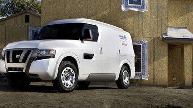 """Concept: Nissan invente le """"bureau mobile"""""""