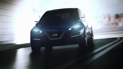 Nissan Sway Concept 2015 : La future Micra en filigrane au Salon de Genève