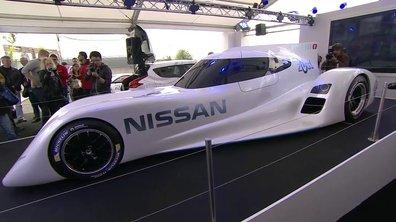 """Nissan ZEOD RC : le proto """"électrique"""" des 24h du Mans 2014"""