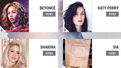 """Beyoncé, Katy Perry, Shakira, Sia : Les stars nommées dans la catégorie """"Artiste féminine Internationale de l'année"""" aux NRJ Music Awards 2014"""