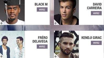 """Black M, David Carreira, Fréro Delavega, Kendji Girac : ils veulent être la """"Révélation Francophone de l'année"""" aux NRJ Music Awards 2014"""