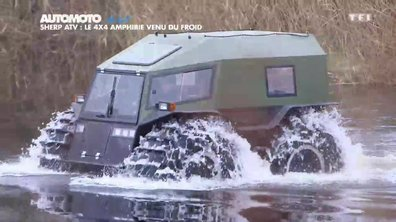 No Limit : Sherp ATV, le 4x4 amphibie venu du froid