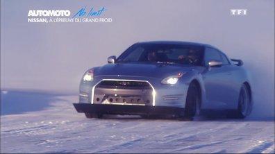 No Limit : La Nissan GT-R 2015 sur glace