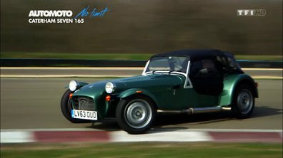 No Limit : la Caterham 165 sur circuit