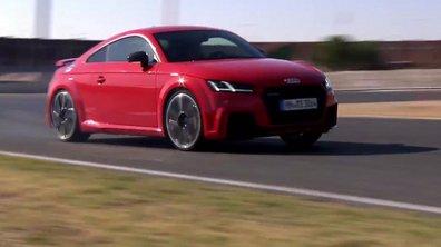 La nouvelle Audi TT RS 2016 à l'essai