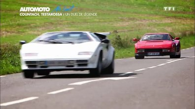 No limit : Lamborghini Countach contre Ferrari Testarossa
