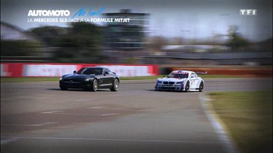 No Limit : Mercedes SLS AMG contre formule Mitjet, le duel