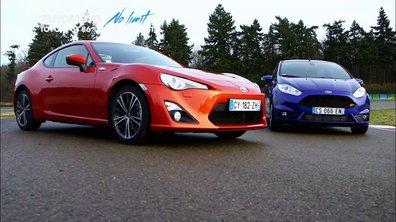 No limit : Toyota GT 86 versus Ford Fiesta ST