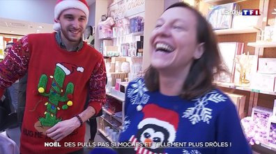 Noël : des pulls pas si moches et tellement plus drôles !