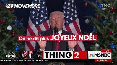 Si Noël existe c'est grâce à Trump !