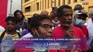 Non-vaccinés en Martinique : coup de force à l'hôpital