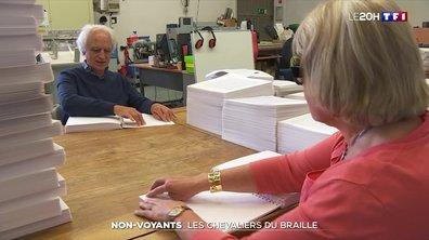 Non-voyants : à Toulouse, une maison d'édition transcrit les livres en braille