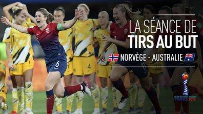 Norvège - Australie : Revivez la séance des tirs au but en intégralité