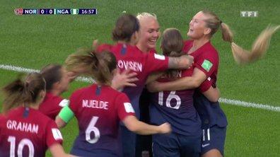 Norvège - Nigeria (1-0) : Voir le but de Reiten en vidéo