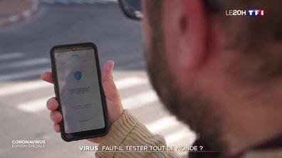 Nos téléphones bientôt traqués pour limiter la propagation du virus ?