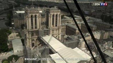 Notre-Dame presque hors de danger : nos images exclusives