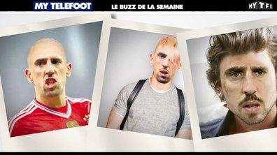 MyTELEFOOT - Le Buzz : le nouveau look de Ribéry, Robben mordu par un croco ?