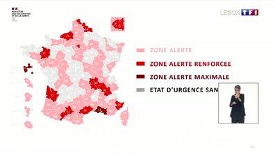Nouvelle carte de France du coronavirus : ce qu'il faut retenir des annonces d'Olivier Véran